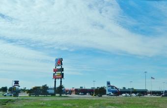 TA travel center Terrel Texas