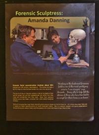 Amanda at work poster