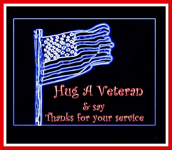 Hug a Veteran