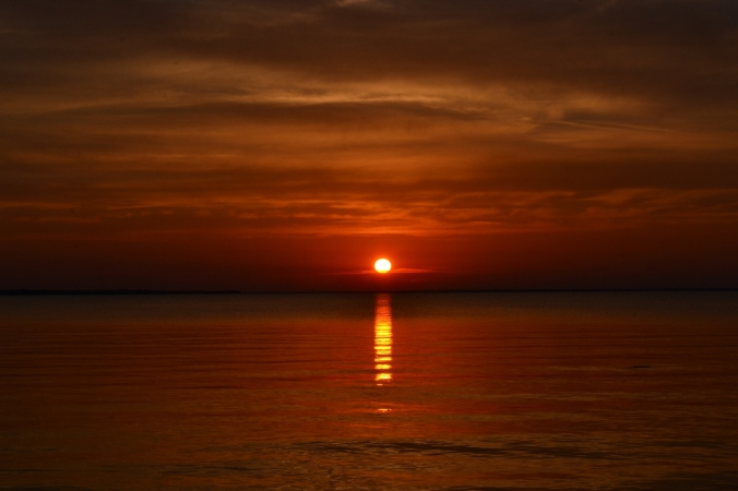 sunset on the water (4)