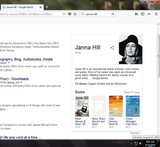 screenshot JANNA HILL google